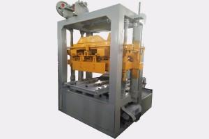 Semi automatic hollow block making machine QTJ4-26C