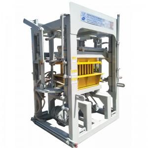 Hydraulic paver making machine