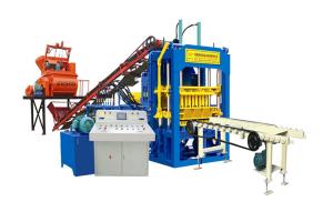 QTY4-15C Concrete fabricación de ladrillos máquina