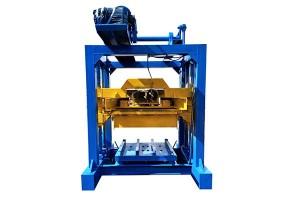 QTJ4-40 Manual block making machine