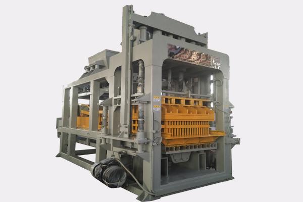 QTY10-15 Awtomatikong kongkreto bloke paggawa ng machine Itinatampok na Larawan