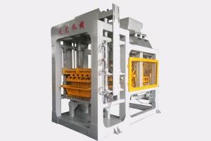 Hot venda QTY6-15A máquina de facer bloque automático con saída de alta