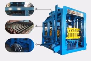 Promotion model QTY6-15A automatic concrete block machine