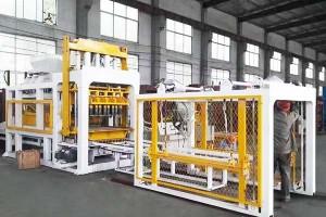 QTY10-15 Awtomatikong kongkreto bloke paggawa ng machine